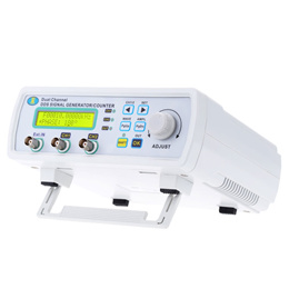 High Precision Digital DDS Dual-channel Signal Source Generator Arbitrary Waveform Frequency Meter 2