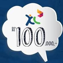 Pulsa XL 100rb Pengiriman langsung