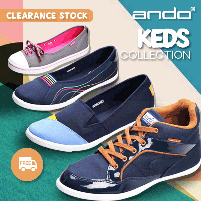 [FREE SHIPPING INDONESIA] ANDO NEW COLLECTION WOMEN KETS! GOOD QUALITY! sepatu wanita / sepatu kets Deals for only Rp199.000 instead of Rp199.000