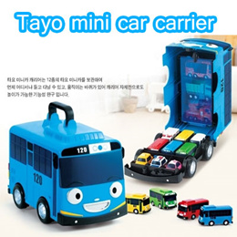 ★SALE★ Tayo Mini Car Carrier / Tayo Mini Car Carrier for Special Mini Car Toy (Sweety)