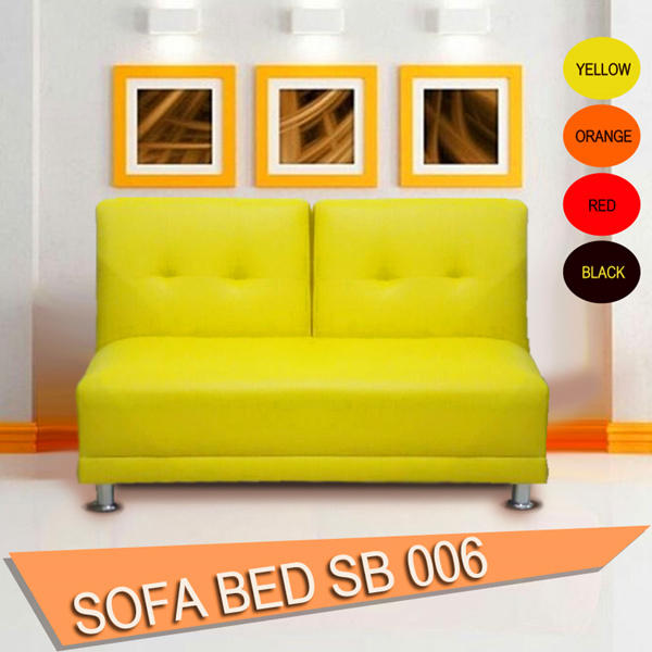 [NEW ITEM] SOFA BED SB 006 COLOURING RED/YELLOW/ORANGE/BLACK Deals for only Rp1.599.000 instead of Rp1.599.000
