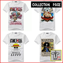 [Tee Museum] Unisex One Piece Graphic Tee Collection | Plus Size
