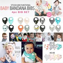 JULY ★MATIMATI MOMSCARE Korean★ Stylish Bandana Baby Bib Drool Bibs Baby Triangle Scarf Kids Toddler