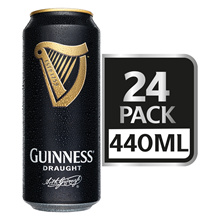 Guinness Draught Beer 440ml x 24 Cans($100 After $20 Coupon!)