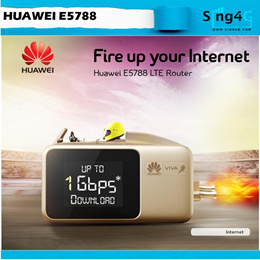 Huawei e5788 4G LTE 1Gbps Speed MIFI Portable Hotspot Ready Stock Instant Ship