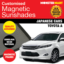 ★QUALITY★ MAGNETIC SUNSHADE (TOYOTA A) FREE MICROFIBRE CLOTH!