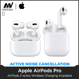 *Local Stocks!* AIRPOD PRO / 2 with [ WIRELESS CHARGING CASE ] - International Warranty! Ship Out Within 3 Days! LIMITED SETS
