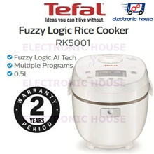 ☠Tefal RK5001 0.5L Mini Fuzzy Logic Rice Cooker â˜