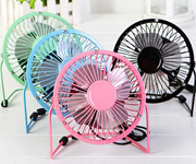 Mini USB Metal Fan (4 Inch) Super Cooling/Extra Strong Wind