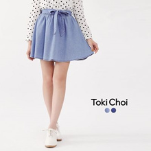TOKICHOI - Ribbon Tie String Skirt-6019849-Winter