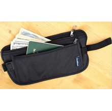 $3.90 (no option fee) Inner Waist Pouch / Travel Belt with Inner Secret Compartment for Cash / Money