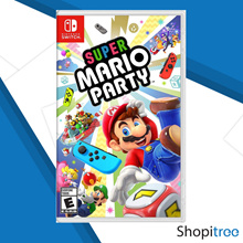 Nintendo Switch Super Mario Party - Super-charged Fun for Everyone! Experience with New Element, Dynamic New Play Style! 80 New minigames with Many Ways to Play!