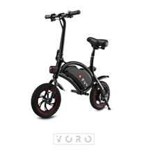 DYU Deluxe Compact Electric Scooter Piano Black (Last 4 sets)