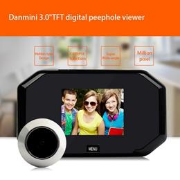 3.0 Inch TFT LCD Digital 2MP Camera Door Peephole Viewer Doorbell Color Screen Video-eye 145 degree