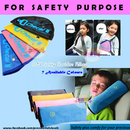 Quality * Child Car Seat Belt Pillow Cover Protector * Child Car Seat Belt Adjuster * Safety