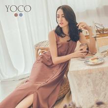 YOCO - Bottom Up Pinafore Dress-181410-Winter
