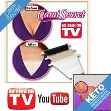 [As seen on tv]cami secret 3clolors 1set/beige+white+black/