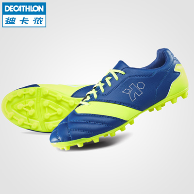 4e31abbf29e Decathlon artificial turf soccer shoes Density300 FG cleats football  equipment for adults KIPSTA