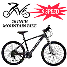 Tornado Mountain Bike / 9 Speed / 26 Inch Wheel Size / Available in Various Colours