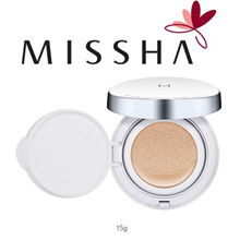 [Missha] [M] Genuine Missha Magic Cushion #23 Natural Beige SPF50+ PA+++ 15g / Magic Cushion #21 Light Beige SPF50+ PA+++ 15g