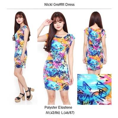Nicki Graffiti Dress