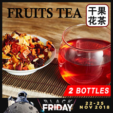 *Bundle Deal 2 Btls* Natural Flower Fruits Tea * Rich Vitamins* Fruits Nutrition * Natural Flesh Tea