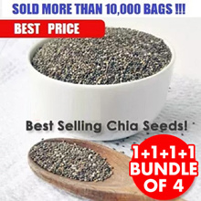 ***2.0 KG SUPER VALUE CHIA SEEDS (1+1+1+1 Packets - 2000 GRAMS) ***