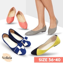 Velicia Flat Shoes for Girls - Premium Flat Shoes - SLIP ON SHOES // FLAT PRICE