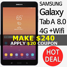 Samsung Galaxy Tab A 8.0 2017 Tablet 4G with Wifi SM-T380 / T385