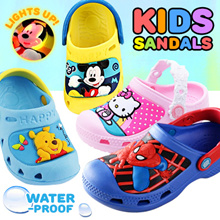 [READY STOCK] BABY TODDLER KIDS WATERPROOF SHOES | SANDALS | CARTOON CHARACTERS SHOES
