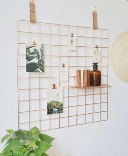 Wall Wire Grid Mesh / Memo Board / Home Organization / Hanging