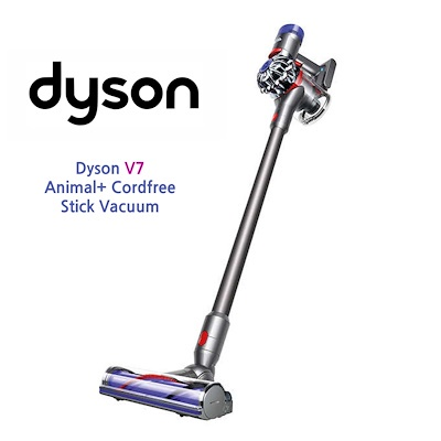 qoo10 dyson v7 animal cordfree stick vacuum home. Black Bedroom Furniture Sets. Home Design Ideas