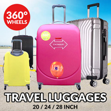 TRAVEL LUGGAGE 20-24-28 INCH Light-weight with 360c wheel