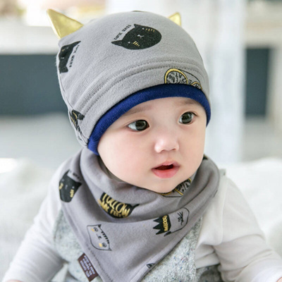 2db4df5b96e Qoo10 - Autumn and winter 6-12 months baby hat Spring 1 year old boy ...