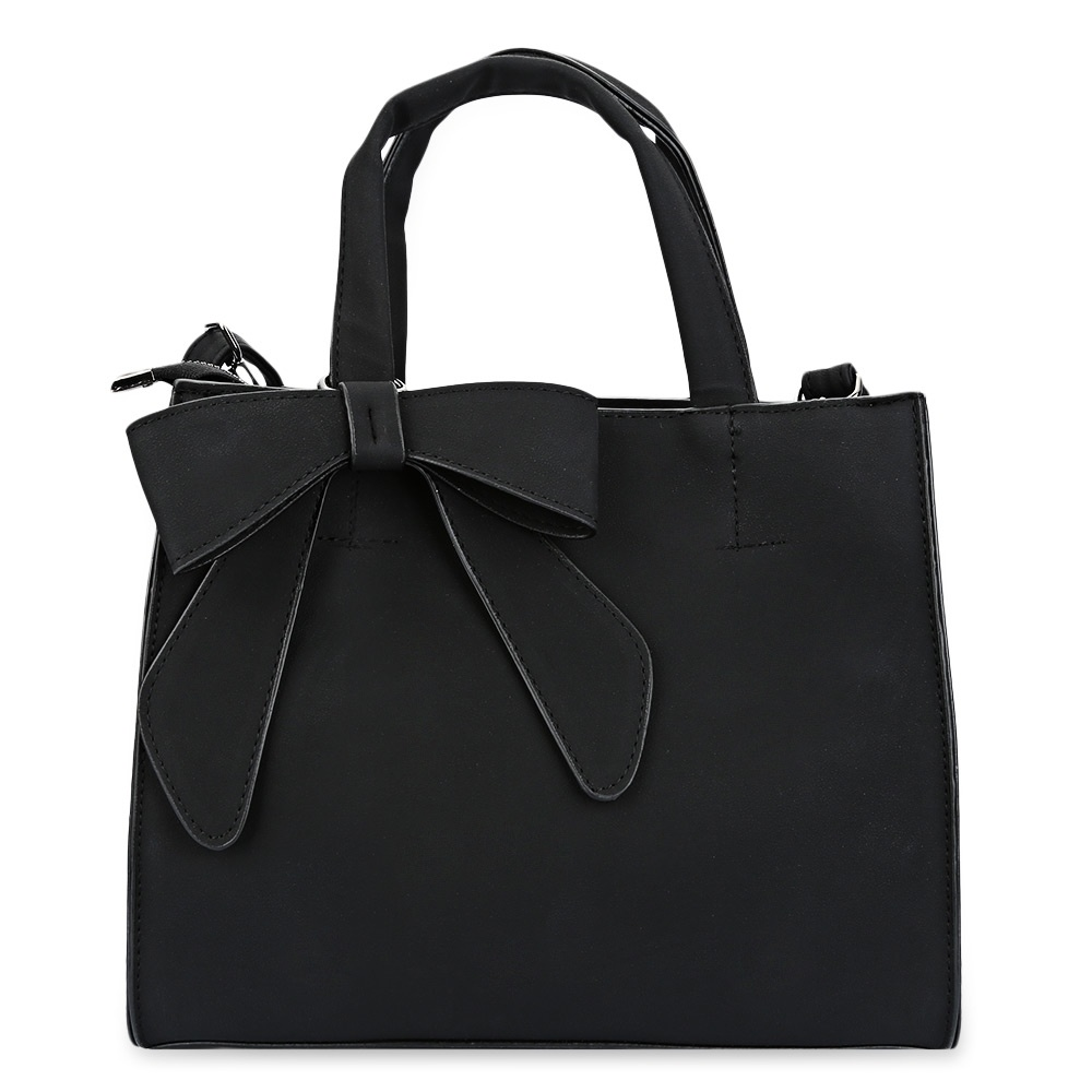 d336e4322f57 fit to viewer. prev next. Sweet Bowknot Embellished Pure Color Shoulder Bag  for Women