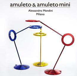 [amuleto] World-class eye protection LED desk stand amuleto Mini [opaque]