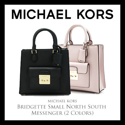 3453e50e12c5 Michael Kors Bridgette Small North South Messenger (Available In 2 Colors)