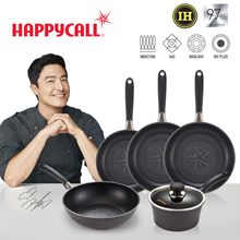 Happycall 2019 New IH Diamond Frying Pan 5-SET / Cooking pots wok pans / induction