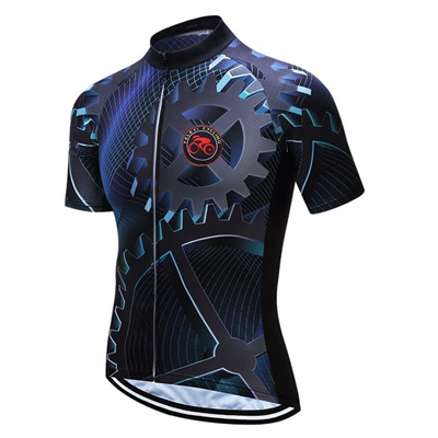 Teleyi Bike Team Men Racing Cycling Jersey Tops Bike Shirt Short Sleeve  Bicycle Clothes quick dry b55aebe87