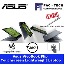Asus Vivobook Flip/i5 or i7/1tb + 128GB SSD/8GB RAM/14inch FHD TS/Fingerprint reader/2 Year Warranty