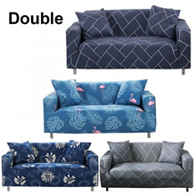 Sofa Cover For Double Seat Sofa Couch Slipcover Stretch Covers Elastic Fabric + FREE One Pillow Case