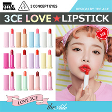 [3CE / STYLENANDA]  NEW ★ LOVE COLLECTION ★ GLOSSY LIP STICK  ★  VELVET LIP STICK