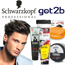 Schwarzkopf Men Hair Styling Gel/ Matt Paste / Clay / Fibre Paste / Molding Paste / Creme