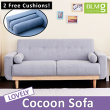 Cocoon Fabric Sofa★Sofa★Furniture★Couch★Sofa Bed★Free Gift★cushion★Living★Multi pur