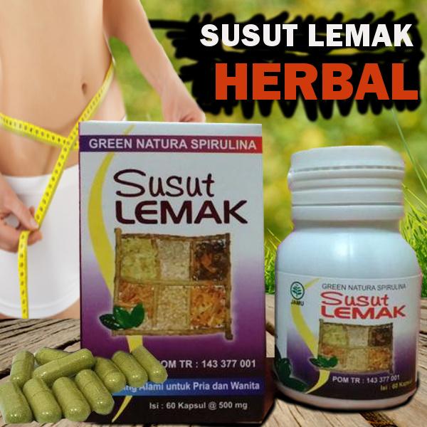 Susut Lemak Tenlung Hijau Daun Spirulina Deals for only Rp50.000 instead of Rp50.000