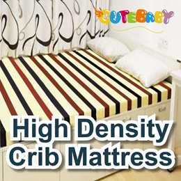 Foldtable Playpen form High Density crib mattress with Breathable Hole Multi able size baby cot size