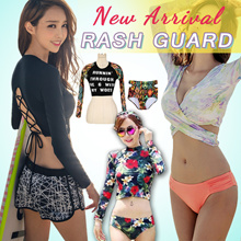 【Big coupon 】Rash Guard★Women Rashguard UV Protection Swimming Wear★Swimming Wear ★Swimsuit