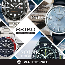 [SEIKO] BEST OF SEIKO. Seiko 5 Sports Prospex Automatic Chronograph Diver Watches. Free Shipping!