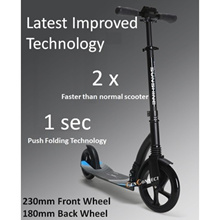 ⏰★FREE SHIPPING!★ PREMIUM ABEC 11 Ball Bearing DUAL Suspension Foldable Kick Scooter