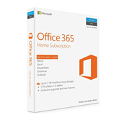 ORIGINAL MICROSOFT OFFICE 365 HOME RETAIL PACK 1 YEAR LICENSE (5PCS/MAC + 5 TABLETS)